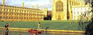 Campamentos y campus universitarios en Inglaterra Cambridge