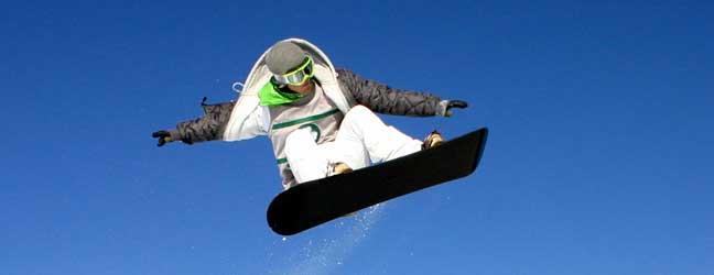 Cursos de Inglés y Snowboard